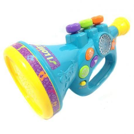 Mainan Anak Violin Frozen barney trumpet musical adventure happy toko