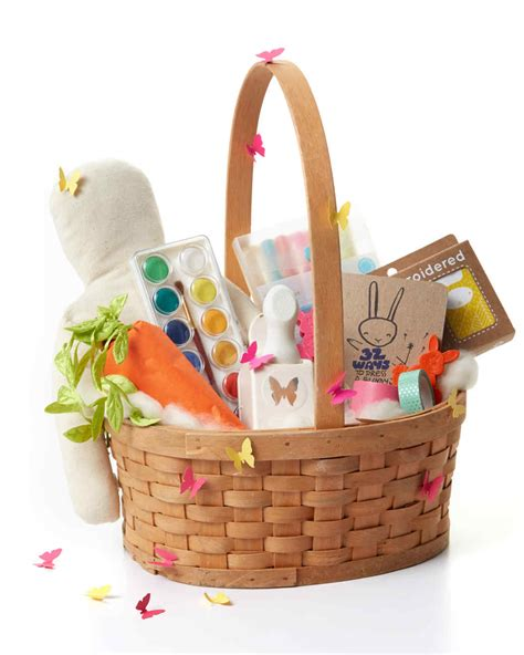 easter gift baskets for 31 awesome easter basket ideas martha stewart