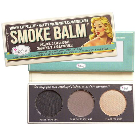 The Balm Smoke Balm With Foil I Avec Feville Palette Maquillage Yeux Fard Ombres A Paupieres Comparer