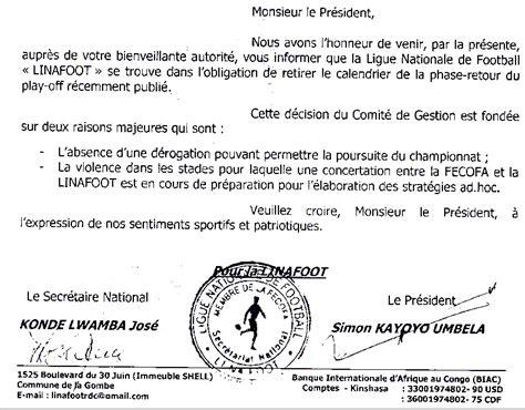 Calendrier T P Mazembe Le Calendrier Des Play Offs Retir 233 Par La Ligue