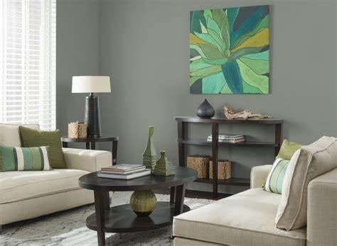 Atractiva  Decorar El Salon Comedor #4: Decorar-paredes-colores-salon-verde-oscuro.jpg