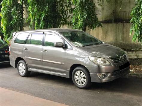 Jual Toyota Innova Jual Toyota Innova G Luxury Matic 2012 Mobilbekas