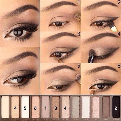 tutorial eyeshadow wardah seri i eye makeup step by step make ups pinterest eye
