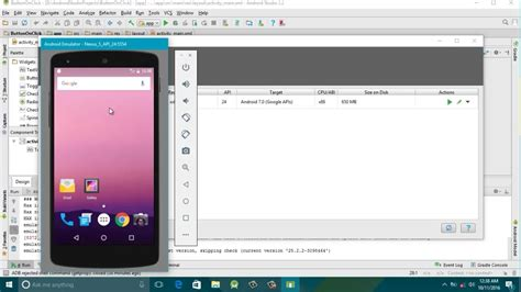 android studio run on device how to create device avd emulator android studio 2 2 and run app caratutorial