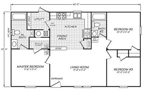 Floor Plans For Mobile Homes Single Wide 24403s fleetwood new and used single wide and double