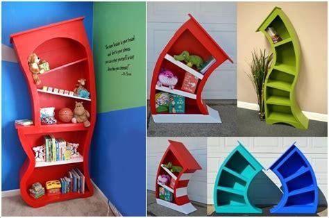 Rak Buku Warna 7 desain rak buku unik untuk desain rumah makin menarik