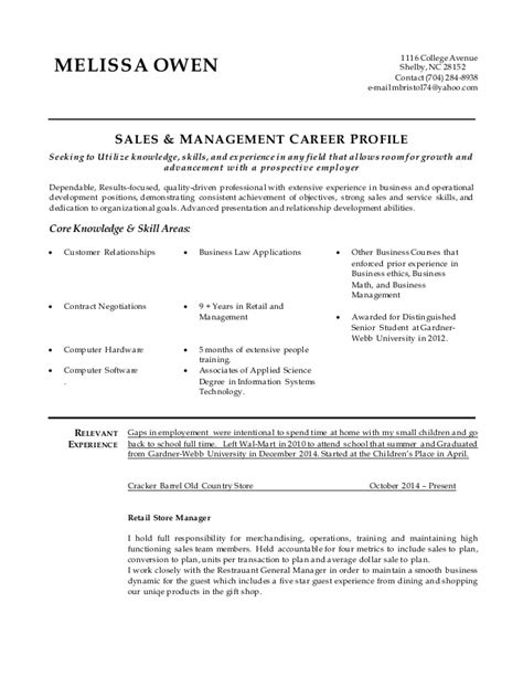Resume Mba In Progress Sle by Sales Resume In Progress 2015