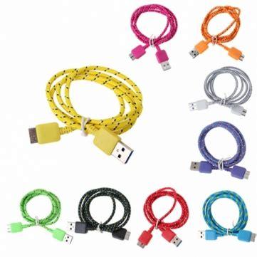 Taffware Kabel Data Usb 3 0 Ke Micro Usb3 0 Braided 1 taffware kabel data usb a ke micro b usb 3 0 braided jakartanotebook