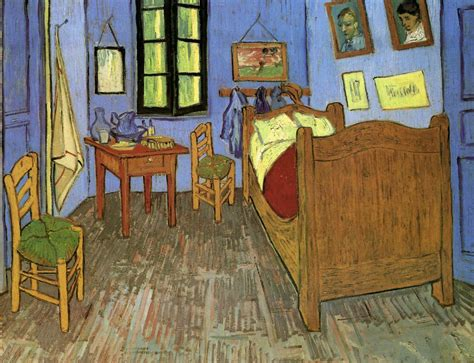 vincent van gogh the bedroom paintings in the asylum miscellaneous saint rmy may