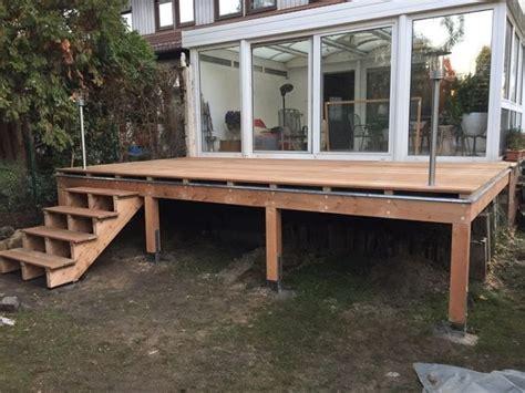 terasse bauen gallery of garten terrasse selber bauen