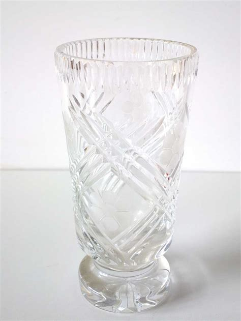 Bohemia Vase by Vases Vintage Bohemian Vase Was Listed For R495