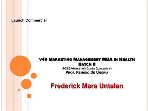Mars Mba Leadership Program by Frederick Mars Untalan