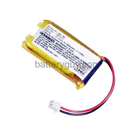 collar batteries lithium collar battery 3 7v 300mah bg dc52 21 95