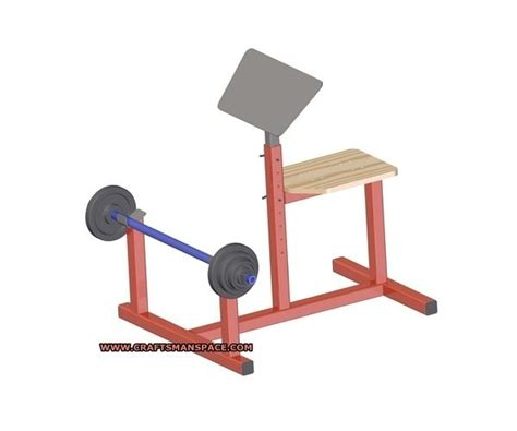 how to make a preacher curl bench preacher curl bench plan homemade workout equipment