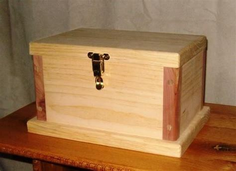 free woodworking plans simple jewelry box