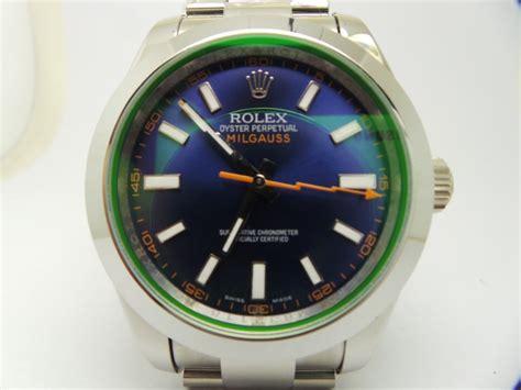 Ultimate Replica Rolex Milgauss Blue Electric rolex milgauss blue replica