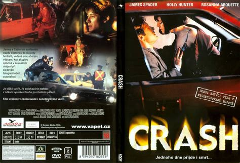 themes in film crash covers box sk crash 1996 high quality dvd