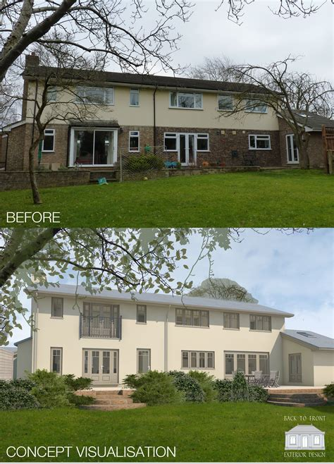 House Exterior Design Surrey by 1960 S Exterior From Bland To Grand Exterior Design