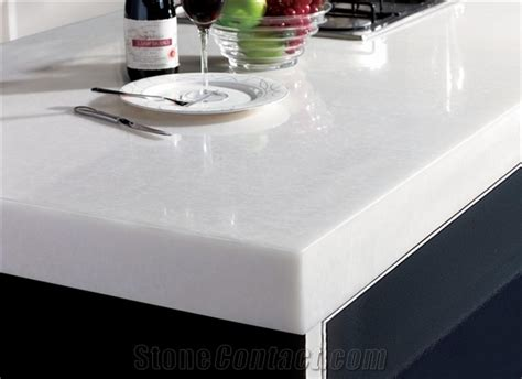 White Marble Kitchen Countertops by Kitchen Countertops A Concord Carpenter