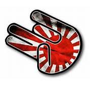THE SHOCKER HAND With JDM Drift Style Rising Sun Flag