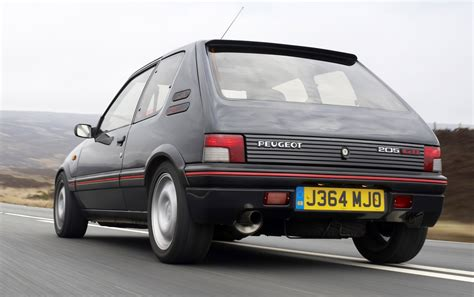 peugeot 205 weight pug1off creates updated peugeot 205 gti 195 the driven