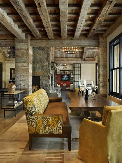 interior design home decor interior design with reclaimed wood and rustic decor in