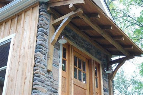 wooden door awning 41 best images about craftsman style garage on pinterest