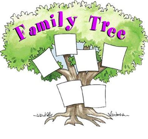 family tree template for kids beepmunk