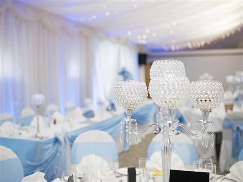 silver and baby blue wedding decorations the baby blue and silver wedding wedding ideas magazine