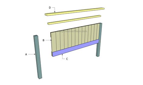bed headboard plans myoutdoorplans free woodworking