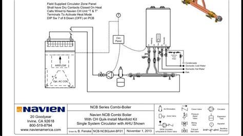 navien piping diagrams navien boiler install