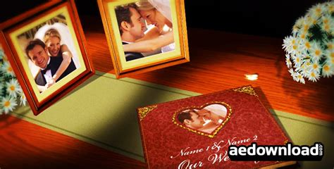 wedding templates after effects download vintage wedding after effects template bluefx free