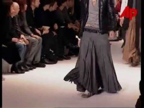 Slimane Why I Split From Homme by Homme A W 2004 Victim Of The Crime Runway Show By
