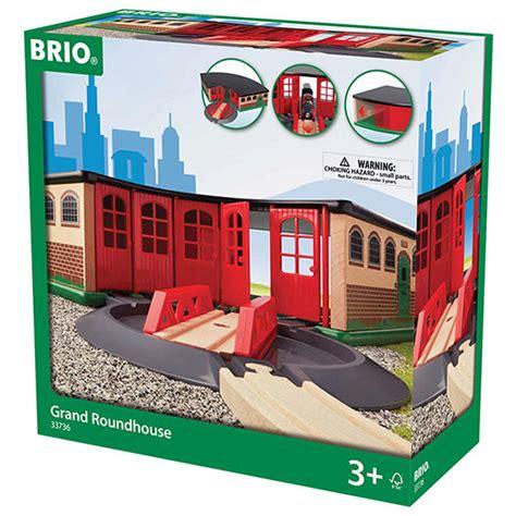 brio roundhouse brio 33736 grand roundhouse for wooden train set ebay
