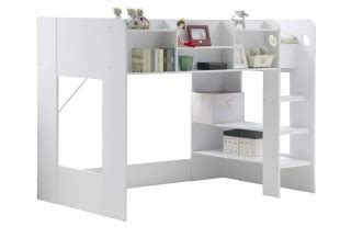 Wizard High Sleeper by Flair Furnishings Wizard Junior White High Sleeper Bed By