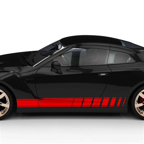 Auto Aufkleber Streifen by Autoaufkleber Seitenstreifen Racing Design Auto