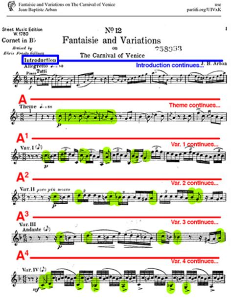 Themes And Variations Exles | theme variation in music definition form exles