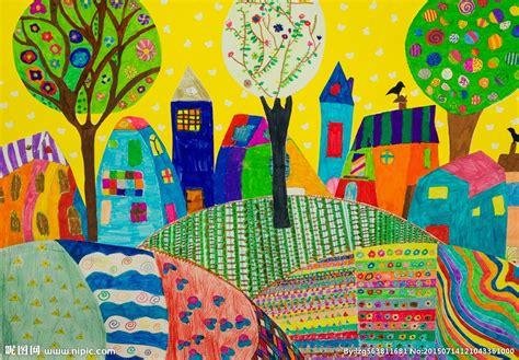 6 Drawing Media by 儿童抽象画设计图 绘画书法 文化艺术 设计图库 昵图网nipic
