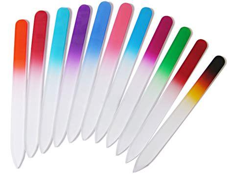 nail file color glass nail files