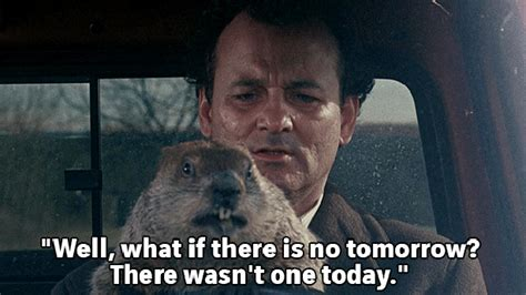 groundhog day bill murray quotes quotes memes
