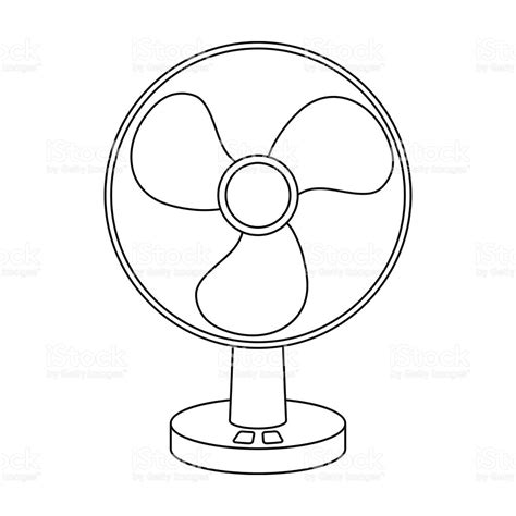 Fan Outline by Fan Clipart Outline Pencil And In Color Fan Clipart Outline