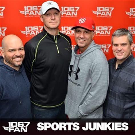 106 7 the fan podcast the sports junkies listen via stitcher radio on demand