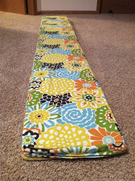 bench cushion tutorial 25 best ideas about padded bench on pinterest fabric coffee table bed bench