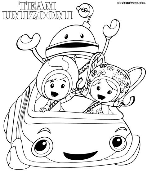 umi car coloring page umizoomi car coloring pages coloring page