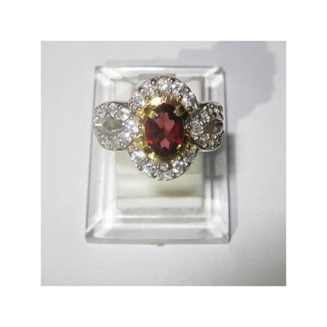 Cincin Almandite Garnet promo cincin wanita silver 925 almandite garnet ring 6us