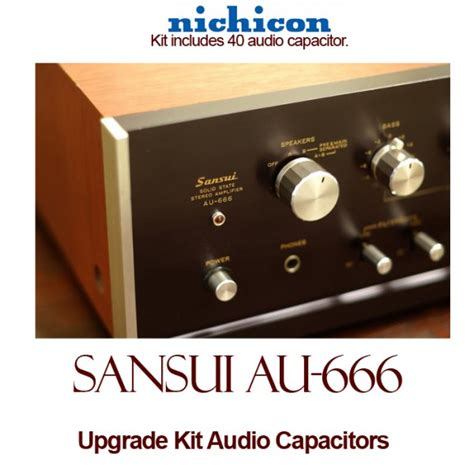 where are nichicon capacitors made sansui au 666 upgrade kit audio capacitors
