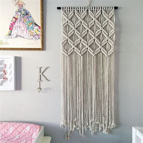 Macrame Patterns Wall Hanging - best 25 macrame wall hanging diy ideas on