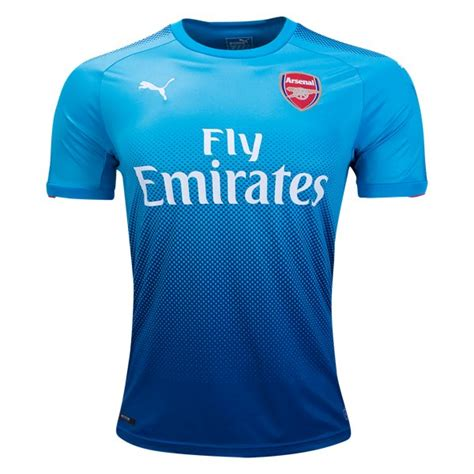 New Jersey Arsenal Away 20172018 jersey arsenal away 2017 2018 grade ori jersey bola