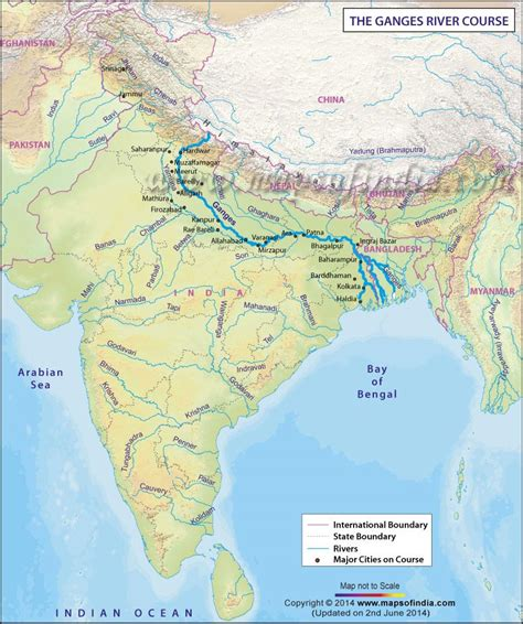 ganges river map ganga se panga the problem with highlighting sacredness
