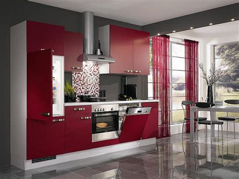 Aluminum Kitchen Cabinets red kitchen design ideas pictures and inspiration